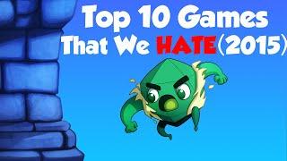 Download Top 10 Games We HATE Video