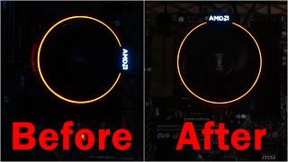 Download How to Rotate AMD Spire Heat Sink - AMD Ryzen microATX Video Editing PC Build Video