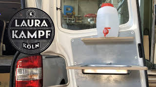 Download Camper Van Conversion EP.4 - Foldable Sink and Water Video