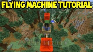Download Minecraft (Xbox360/PS3) - TU31 Slime Flying Machine! - Easy Tutorial Video