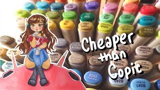 Download ☆ CHEAPER THAN COPICS || 72 Finecolour Markers! ☆ Video