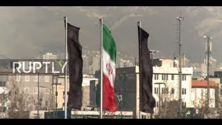 Download Iran: Black flags flies over Tehran after deadly attacks Video