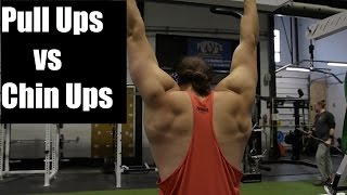 Download PULL UP VS CHIN UPS: What Builds More MUSCLE? Video