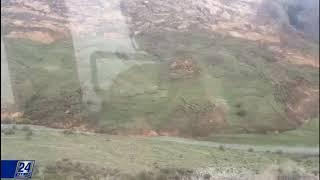 Download Алматы облысында тау жыныстарының көшкіні жолды басып қалды Video