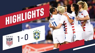 Download WNT vs. Brazil: Highlights - March 5, 2019 Video