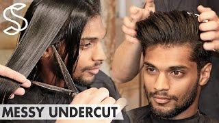Download Beckham inspired Undercut ★ Messy back swept ★ Men's hair Video