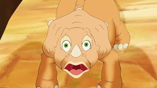 Download Land Before Time   The Interesting ThreeHorn Girl   Full Episodes   Videos For Kids Video