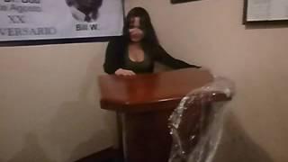 Download CHANTAL INAUGURANDO LA TRIBUNA QUE HIZO HUGO DEL GRUPO ″ EL PADRINO ″ Video