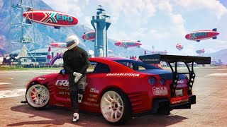 Download GTA 5 - Nissan GTR Gymkhana Drift Montage (Fort Zancudo) Video