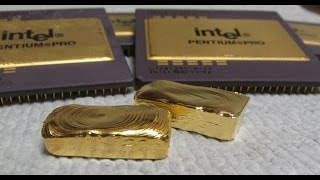 Download Gold Recovery With Bleach Computer Scrap Pentium Pro CPU Video