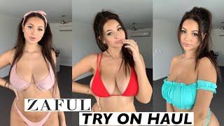 Download ZAFUL BIKINI TRY ON HAUL! Anna Paul Video