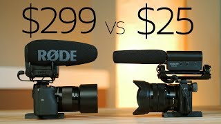 Download $25 vs $299 - Takstar beats the Rode VideoMic Pro+ ? 😲 Video