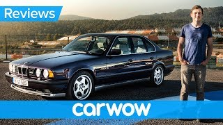 Download BMW M5 E34 review - see why they don't make them like they used to! Video