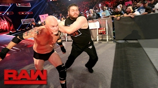 Download Gillberg returns to WWE: Raw, Feb. 13, 2017 Video