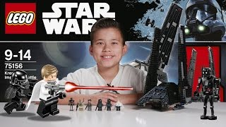 Download KRENNIC'S IMPERIAL SHUTTLE - LEGO Star Wars ROGUE ONE Set 75156 Time-lapse, Unboxing & Review Video