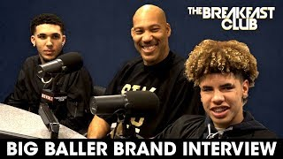 Download Lavar Ball & Sons On Family Business, Discipline, Donald Trump + More Video