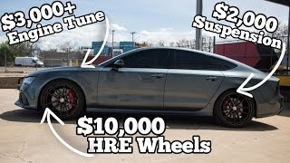 Download Cheap Salvage Auction Audi RS7 Came with 800HP & $15k in Hidden Mods Video