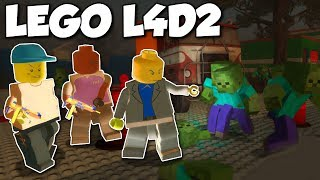 Download MINECRAFT ZOMBIES INVADE LEGO TOWN?! - Left 4 Dead 2 Gameplay - Lego, Nerf & Minecraft Mod Video