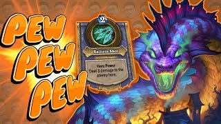 Download HERO POWER EVERY TURN?! Pew Pew Pew - Standard Constructed - The Witchwood Video