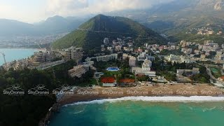 Download Budva Bečići Montenegro Drone Aerial Video бечичи черногория Video