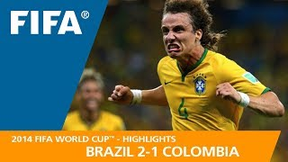 Download BRAZIL v COLOMBIA (2:1) - 2014 FIFA World Cup™ Video