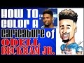Download How To Color A Caricature Odell Beckham Jr Video