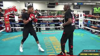 Download DEVIN HANEY has AMAZING WORKOUT ahead of SHOWTIME DEBUT, best PROSPECT in BOXING Video