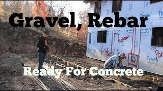 Download Gravel, Rebar, Prepping For Concrete (Addition) And Hindsight... Video