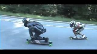 Download Extreme Downhill Skateboarding/Longboarding Video
