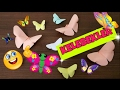 Download Origami Kelebek Yapımı / Easy Origami Butterfly Video