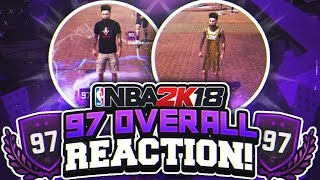 Download 97 OVERALL REACTION! 2K SURPRISED ME WITH THIS REWARD! NBA 2K18 PLAYGROUND! HIGHEST OVERALL! 97 OVR! Video