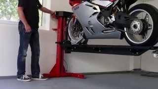 Download Moto Lift 400 LD Motorrad Hebebühne für die Garage moto-lift.de Video