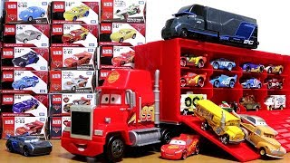 Download Disney Pixar Cars3 Toy Movie Big Mack Truck Gale Beaufort Battle Crash Cars Tomica for kids Video