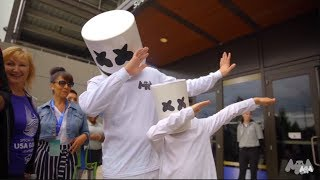 Download Marshmello Supports Special Olympics 2018 Video