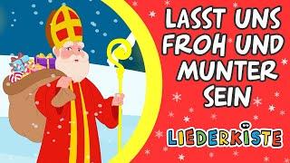 Download Lasst uns froh und munter sein - Weihnachtslieder zum Mitsingen   Liederkiste Video