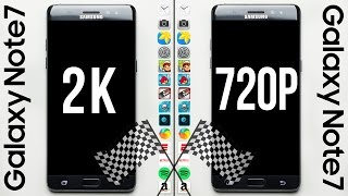 Download Galaxy Note 7 (2K) vs. Galaxy Note 7 (720p) Speed Test Video