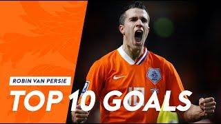 Download Robin van Persie   Top 10 goals in Oranje Video