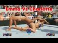Download Requested Match! | Emma vs Charlotte | WWE 2K17 Gameplay | WWE 2K17 Bikini barefoot match Video