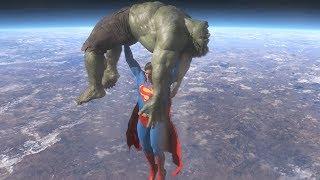 Download Superman vs Hulk - The Fight (Part 4) Video