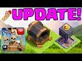 Download BUILDER HALL 7! Clash of Clans UPDATE Announced! Giant Cannon, Drop Ship, MORE! Video