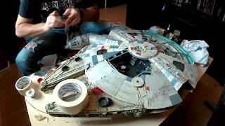 Download Fast Speed Build Star Wars DeAgostini Millennium Falcon - 10 Minutes Video