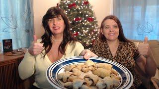 Download Taste Testing Our Hannukah Cinnamon Walnut Currant Rugelach....Happy Saturday! Video