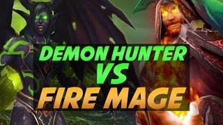Download Demon Hunter vs Fire Mage Duels - Legion PvP Video