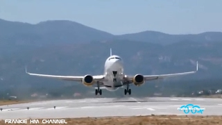 Download Very late take off | Overloaded airplanes | Short runway takeoff Video