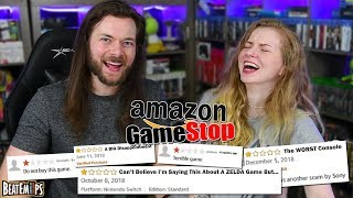 Download Reading TERRIBLE Gamestop & Amazon Video Game Reviews Video