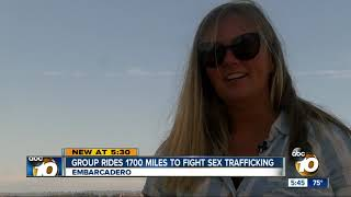Download Group rides 1700 miles to fight sex trafficking Video