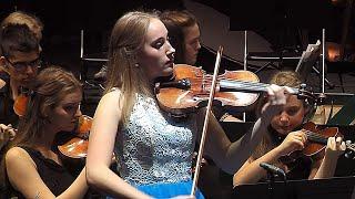 Download Elsa plays ″Frozen″ by Vivaldi - Violin Concerto No. 4 in F minor, Op. 8, Winter from Four Seasons Video