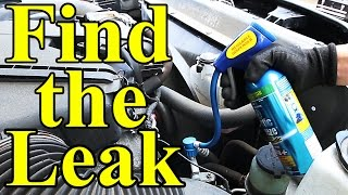 Download How to Find AC Leaks in Your Car (UV Dye) Video