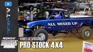 Download 6400 Pro Stock 4x4 Trucks Pulling at Amelia April 15 2017 Video