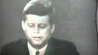 Download John Fitzgerald Kennedy Speaking to America during the Cuban Missile Crisis Video